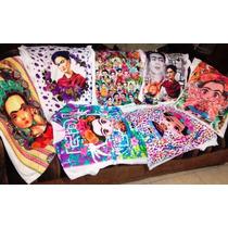 Blusas Frida Kahlo, Hermosas!!! Unitalla Y Extragrande.