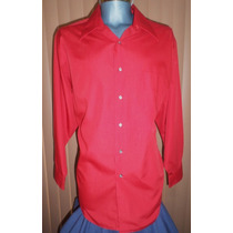 Arrow Camisa Roja Talla Extra Grande Algodon / Poliester