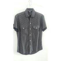 Camisa De Vestir Manga Larga Corte Slim Fit Marca Firho