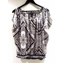 Hermosa Blusa White House Black Market - Fashionella - M