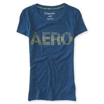 Blusa Aeropostale Estilo 4012 Azul Marino