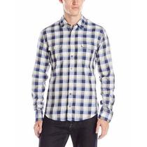 Camisa Hugo Boss (edalisme Plaid Slim Fit) Xl 100% Original
