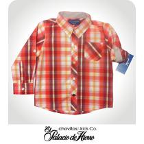 Camisa Para Niño Talla 2 Ch&k Original Palacio De Hierro