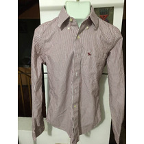 Camisa Abercrombie Polo Rosa