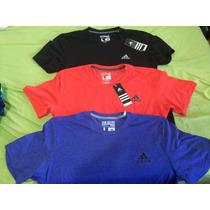 Tres Camisas Adidas Ultímate Y Performances Caballero L