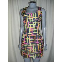 Vestido Moda Antro Marca Street Code Talla S