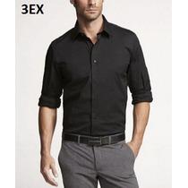 Xs, S - Camisa Express Negra Ropa De Hombre 100% Original