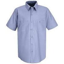 Camisa Arrow Tallas Extra 3xlt Cuello 20 54/56 M. Corta Azul