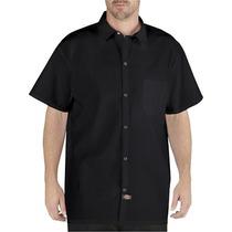 Dickies Dc125 Camisa Peso Ligero Con Bolsillo Cierre Broches