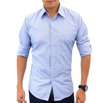 Camisa Fantasía Hpc Polo 3005-cielo