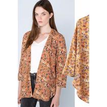 Suku 20969 Fresca Chaqueta Estampada Floral Moda Asia $619