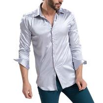 Camisas Tipo Seda Marca Zerdsky Gran Corte Envío Gratis!