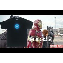 Camisa Iron Man Reactor