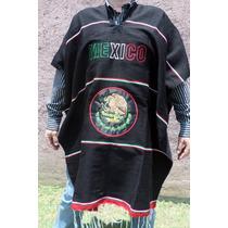 Poncho Virgen Guadalupe. Escudo Nacional Calendario Azteca