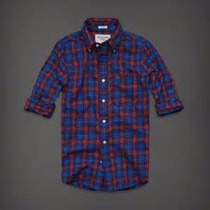 Camisa Manga Larga Abercrombie & Fitch