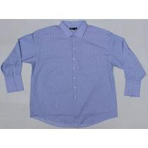 Camisa De Vestir Talla 22 Extra Grande Plus 5xl Mancuernilla