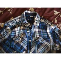 Camisa Joven H/m Manga Larga Talla Xs Medio Uso