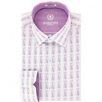 Camisa Bugatchi Estampado A Líneas