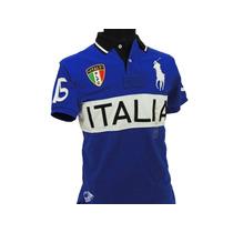 Polo Ralph Lauren - Playera Italia - Talla S - Nuevo