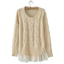 Suku 70958 Sweater Tejido Casual Moda Asia $689