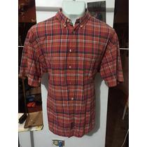 Camisa American Eagle Cuadros Talla Xl Seminueva 3003 *