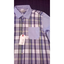 Camisa Cuadros Moda Fashion Casual