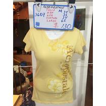Blusa Aeropostale Amarilla Talla M Seminueva 3607