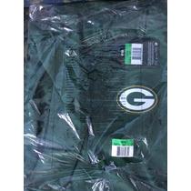Pullover Manga Corta Nike Green Bay Packers Onfield Original
