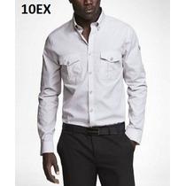 M, L - Camisa Express Plata Ropa De Hombre 100% Original