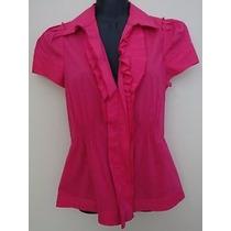 Blusa Bcbg Dama Chica Strech Color Rosa