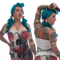 Blusa Kreepsville 666 Estampado Calavera Horror Zombie