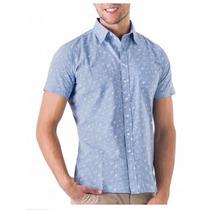 Camisa Casual Next & Co Estampado Aves