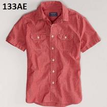 S, Xl - Camisa American Eagle Roja Ropa Hombre 100% Original