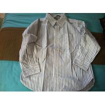 Camisa Rayada Talla S Old Navy
