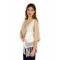 Chaleco London Fashion Crochet