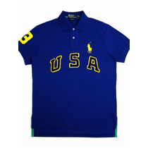 Camisa Polo Ralph Lauren Rugby Usa 100% Original