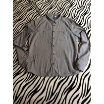 Camisa H&m Hombre Talla L Quiksilver Dc Volcom Sb Slim