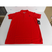 Camisa Original New Balance Essential Polo Red Talla S