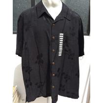 Camisa Tipo Guayabera Caribbean Joe Tallas Extras 2xl 50/52