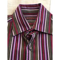 Camisa Etro Original (gucci Versace Armani Dolce & Gabbana)