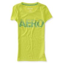 Blusa Aeropostale Estilo 4012 Verde Neon