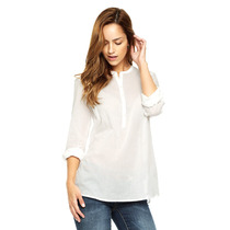 Vero Moda - Blusa Con Botones - Blanco - 10130272