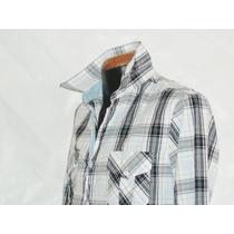 Camisa Cuadros Marca Panino M/l Alg 100% Mod 5911-4 Eshopmdn