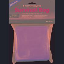Survival Bag - Coghlans Emergencia Hoja Planta Refugio De Al