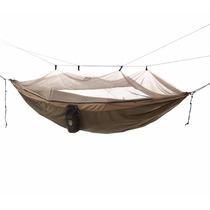 Hamaca Cama Acampar Camping Dormir Descansar Con Mosquitero