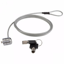 Candado Para Laptop Cable De Seguridad Acero