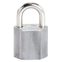 Candado No.9 Corto Color Gris Marca Lock L9s38egs