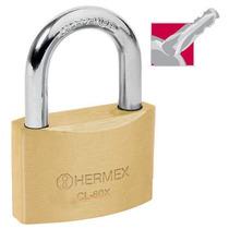 Candado De Alta Seguridad Llave Tetra 60 Mm Hermex 43422