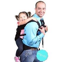 Mo + M Clásico Algodón Del Portador De Bebé (negro) - Soft H