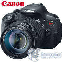 Canon Eos Rebel T5i Con Lente 18-135mm